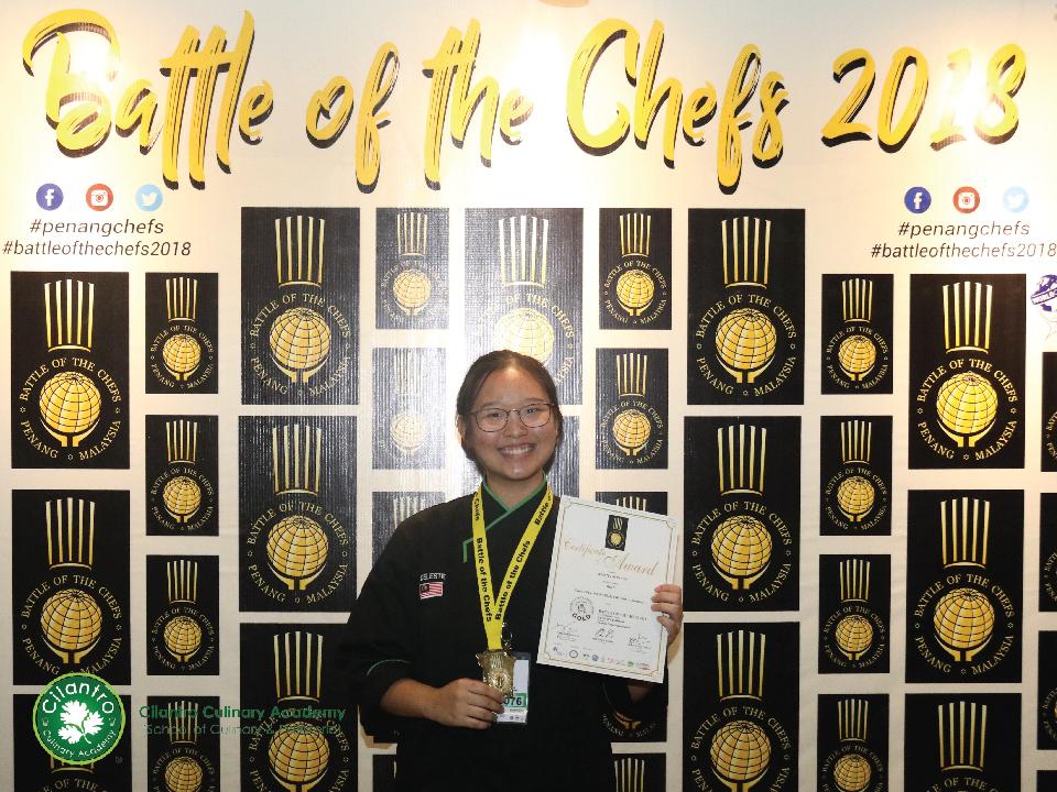 Celeste Lim Sy Yiin - Gold Medal