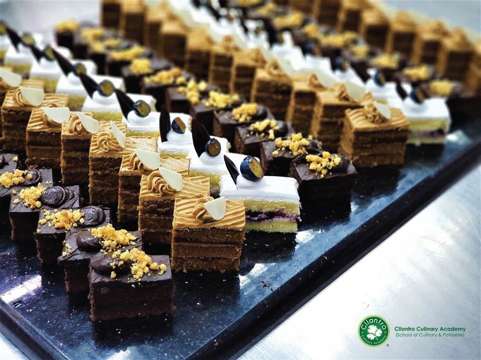 Assorted Cake by Patisserie Students