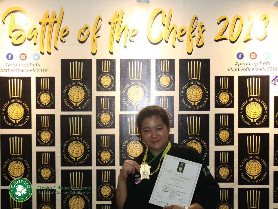 Azura BInti Abdul Wahab - Gold Medal