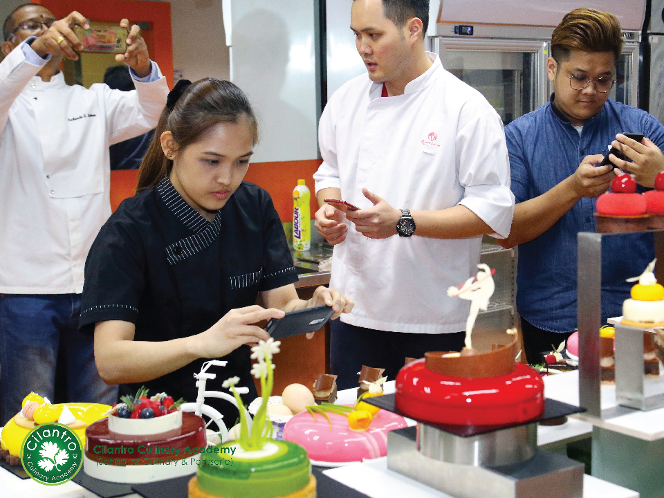 Pastry Creations in Hands-on Workshop with Master Martini