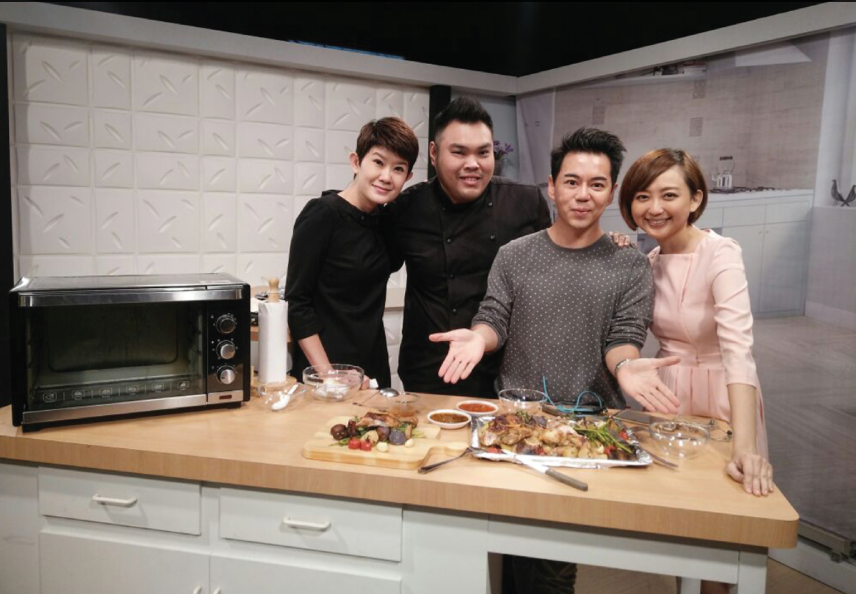 Celebrity Chef in NTV 7 cooking show
