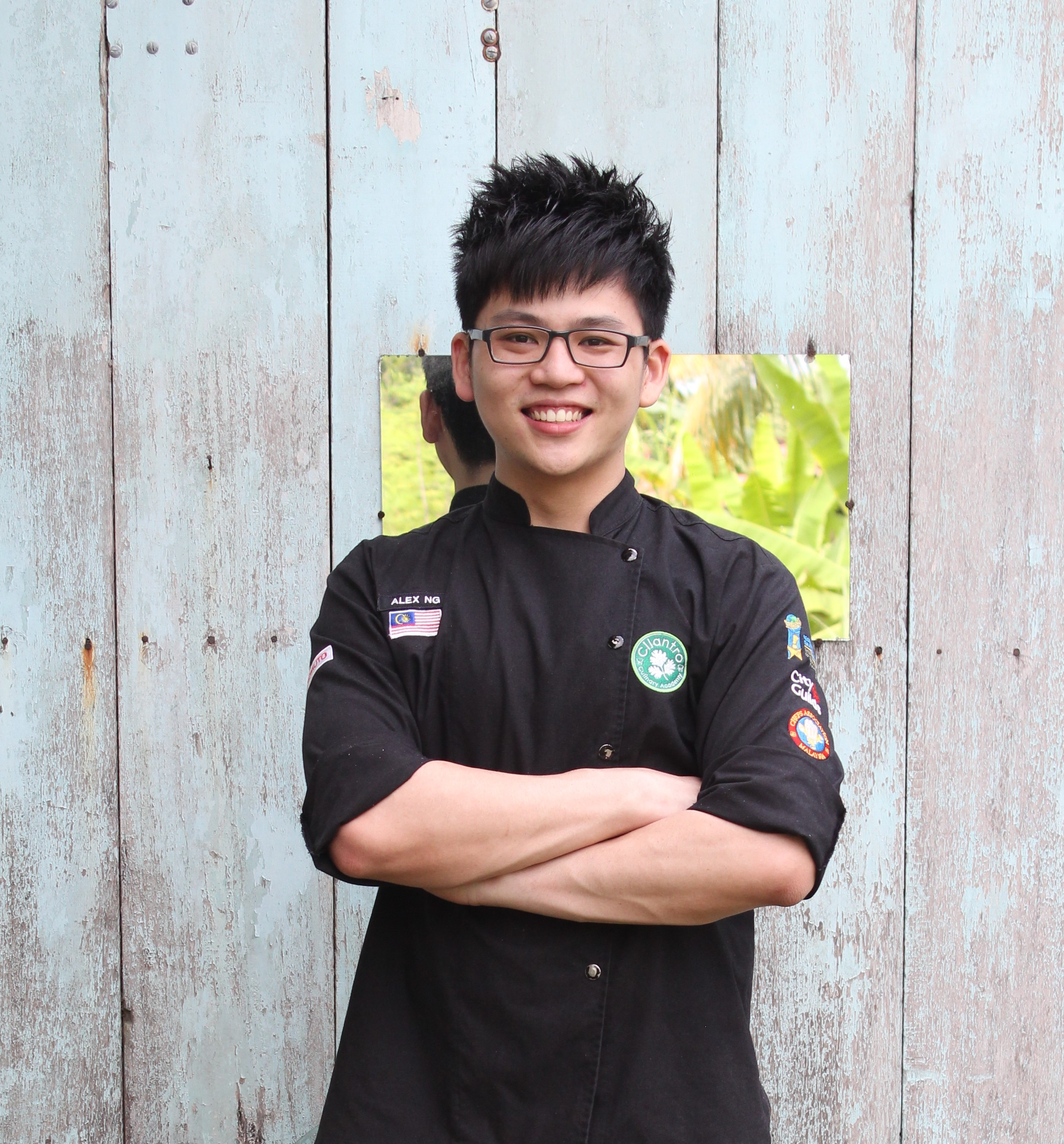 Ng is a student of Diploma in Food Preparation & Cooking graduated in year 2013